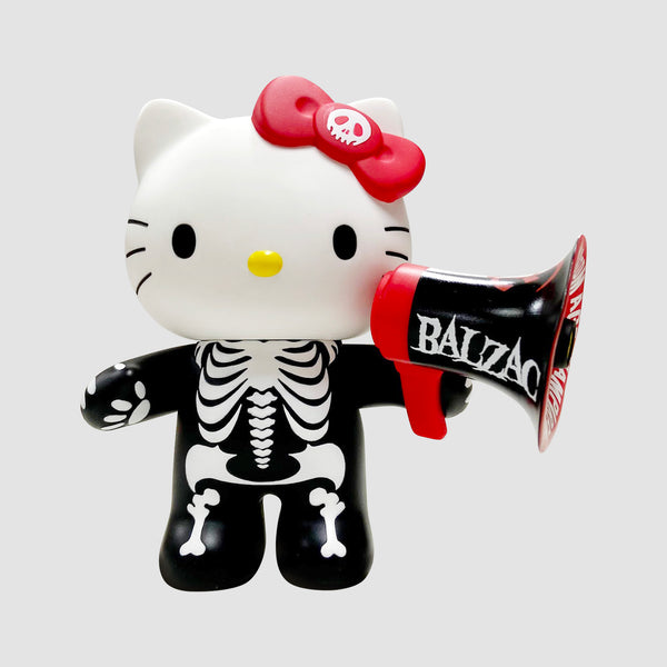 MEDICOM TOY x Balzac x Sanrio: VCD - Atom Age Hello Kitty in 308 Black Vinyl Figure