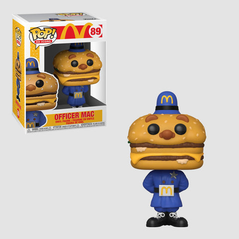 Funko Pop! Ad Icons: McDonald's - Officer Mac #89