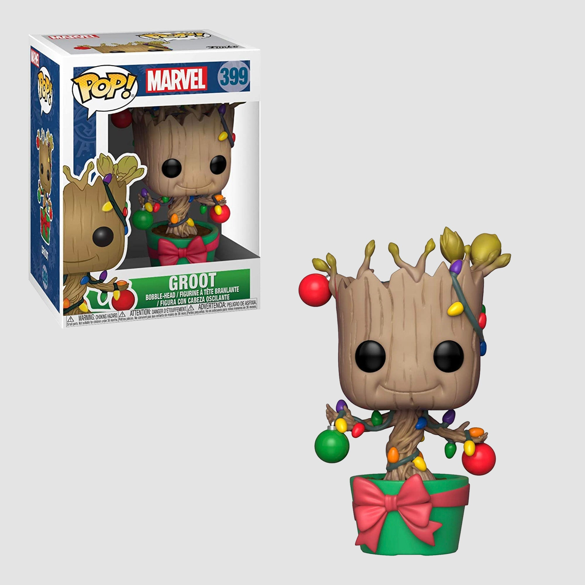 Funko Pop! Marvel: Groot #399 [Holiday]