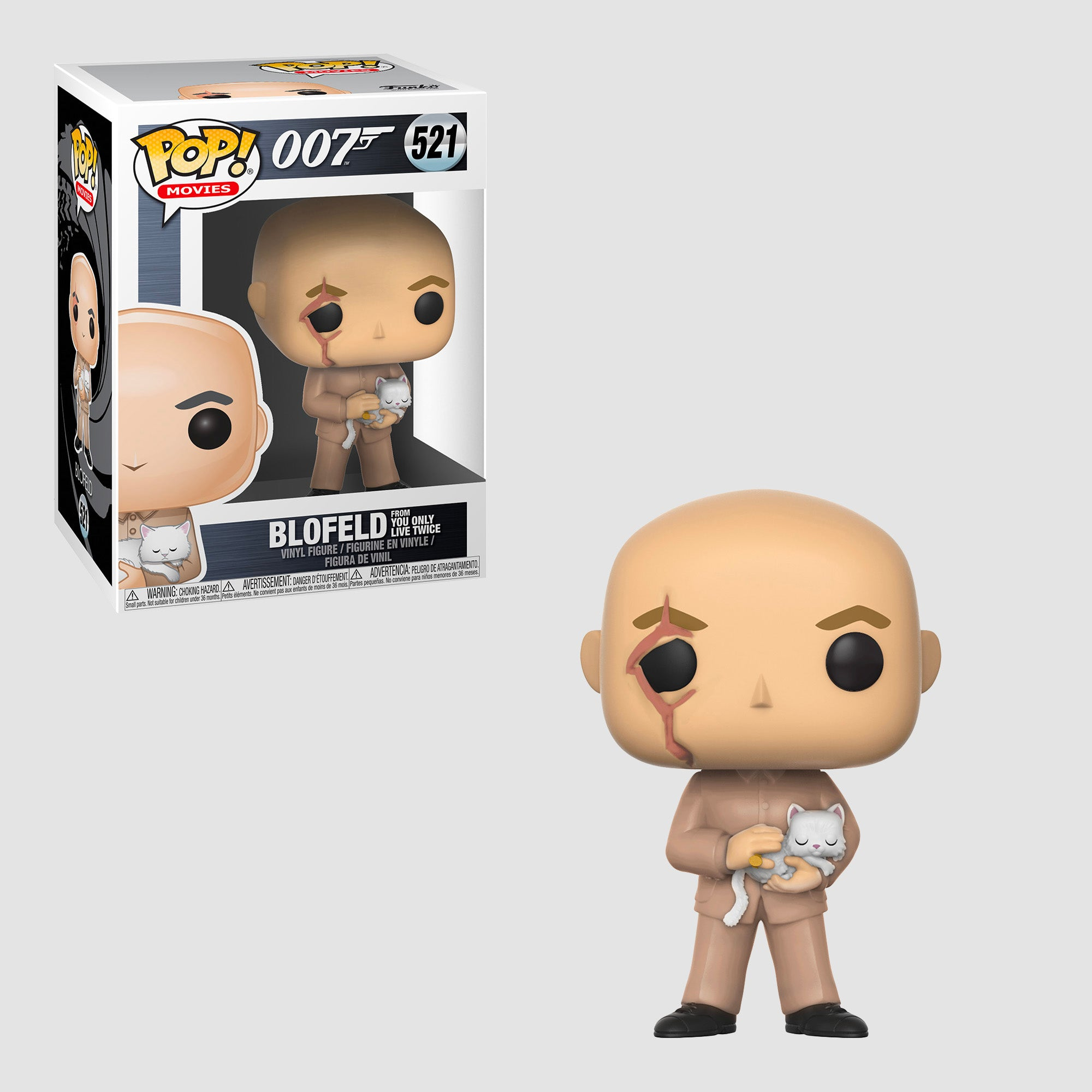 Funko Pop! Movies: 007 - Blofeld #521 (From You Only Live Twice)