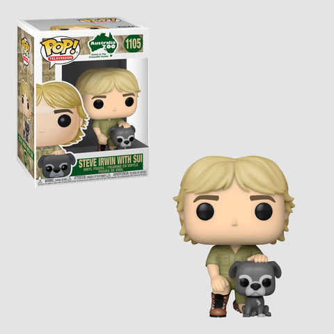 Funko Pop! Television: Steve Irwin With Sui #1105