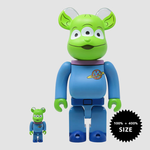 MEDICOM TOY: BE@RBRICK - Toy Story Alien 100% & 400%