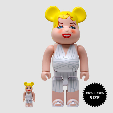 MEDICOM TOY: BE@RBRICK - Marilyn Monroe 100% & 400%