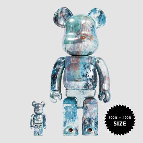 MEDICOM TOY: BE@RBRICK - Pushead #5 100% & 400%