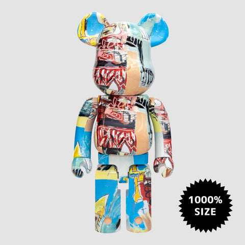 MEDICOM TOY: BE@RBRICK - Jean-Michel Basquiat #6 1000%