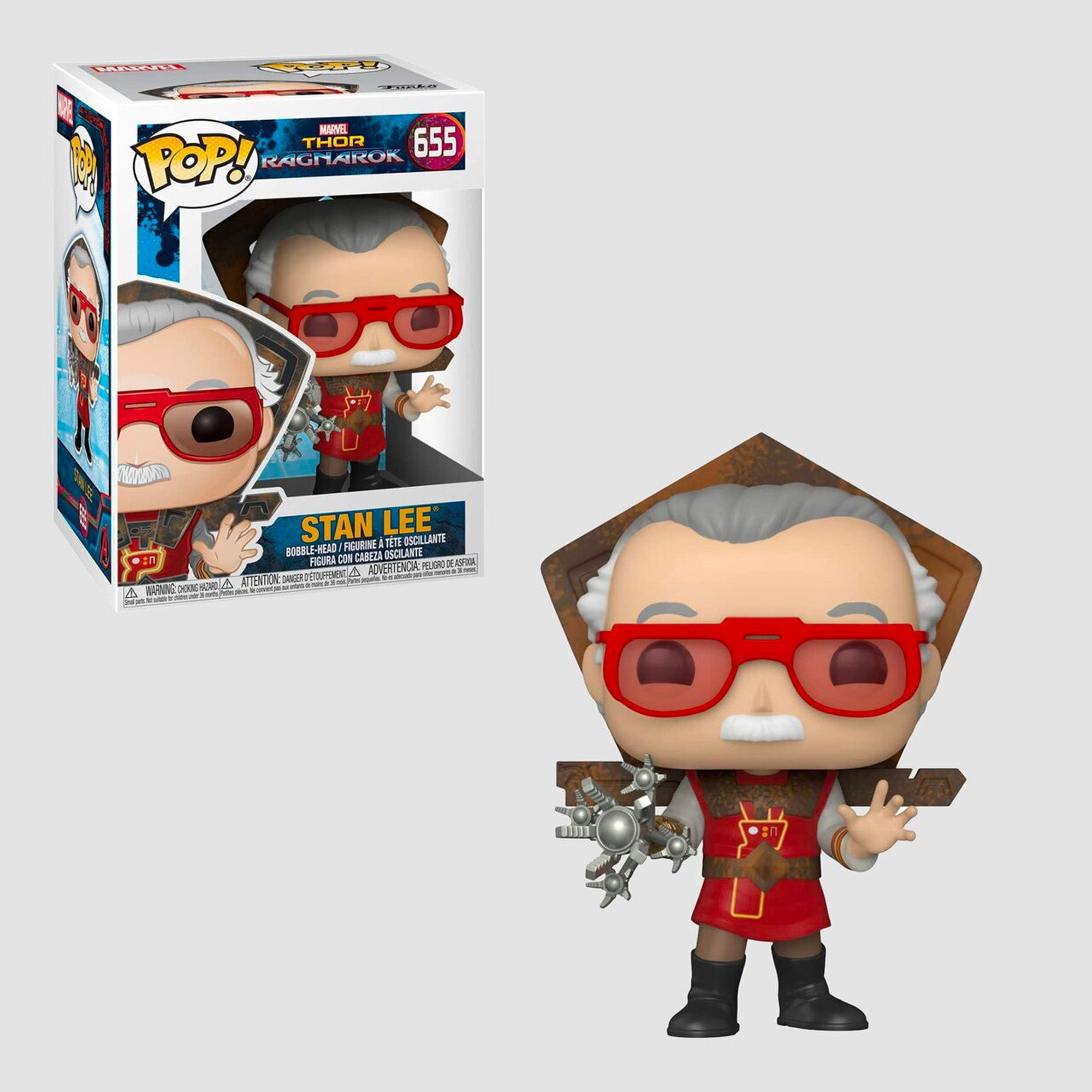 Funko Pop! Marvel: Thor Ragnarok - Stan Lee #655