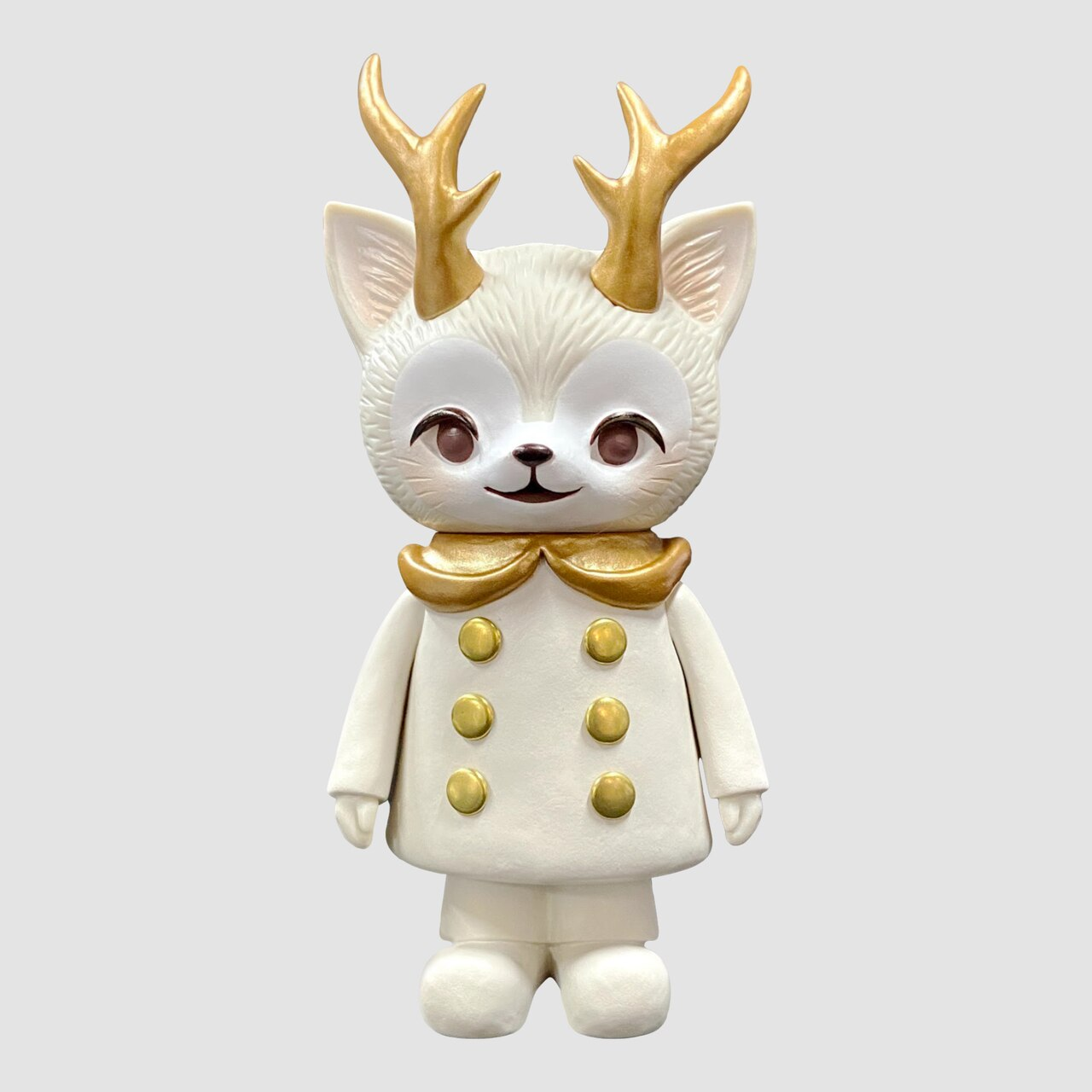 Kaori Hinata - White Morris The Cat with Antlers Limited Edition