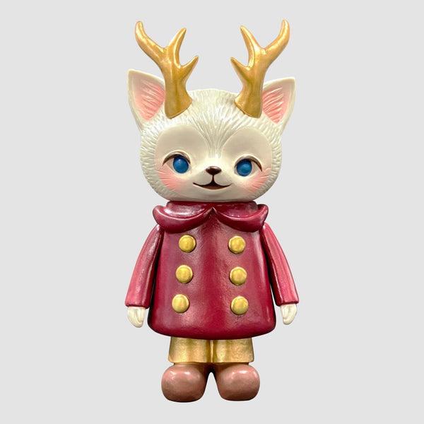 Kaori Hinata - Red Morris The Cat with Antlers Limited Edition
