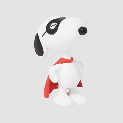 MEDICOM TOY: UDF Peanuts Series 11 - Masked Marvel Snoopy White Figure