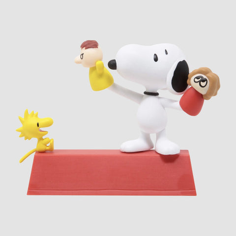 MEDICOM TOY: UDF Peanuts Series 11 - Puppet Snoopy And Woodstock Red Figure