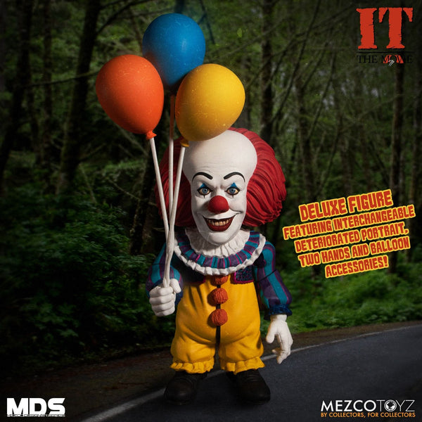 "Mezco Toyz: MDS Mega Scale - IT (1990) Deluxe Pennywise 6"" Figure"