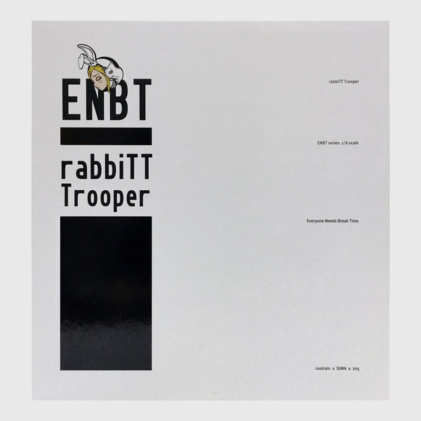 Coolrain X SIMBA X 205 ENBT. rabbiTTrooper White Version