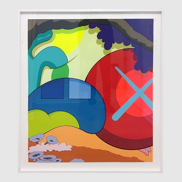 KAWS - You Should I Know I Know, 2015 Print (Framed)