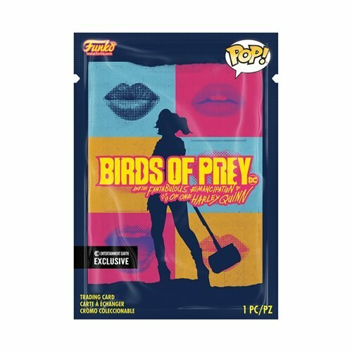Funko Pop! Heroes: DC - Birds Of Prey - Black Canary Boobytrap Battle #304 with Collectible Card Entertainment Earth Exclusive