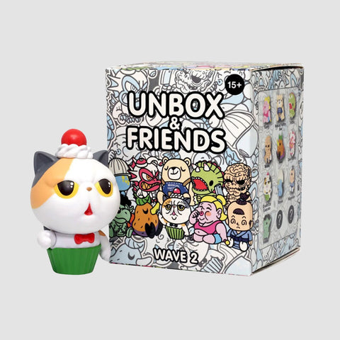 Unbox Industries: Series 2 - Unbox & Friends 1 Blind Box Figure