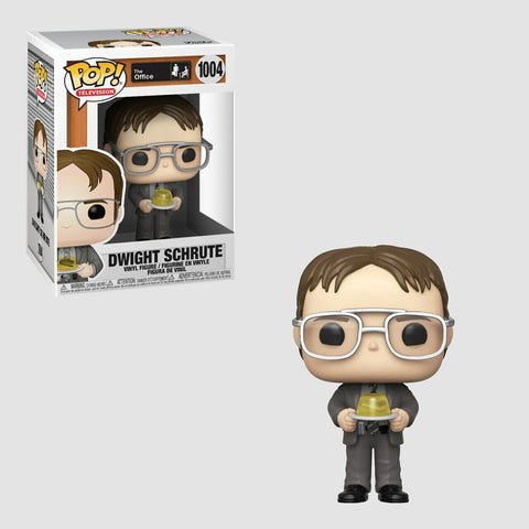 Funko Pop! Televison: The Office - Dwight Schrute with Gelatin Stapler #1004