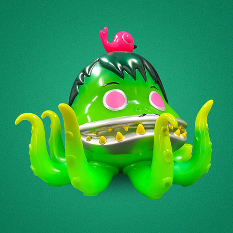 Nathan Jurevicius - Blister the Octopus Green Toy Tokyo NYCC 2020 Exclusive