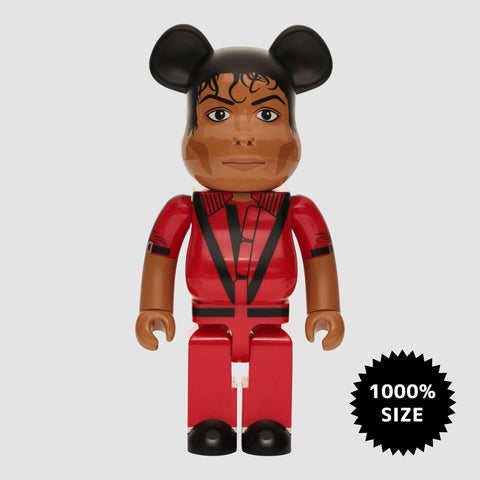 MEDICOM TOY: BE@RBRICK - Michael Jackson Red Jacket 1000%