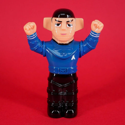 Awesome Toy: SPOCK BARON Finger Puppet Sofubi Figure
