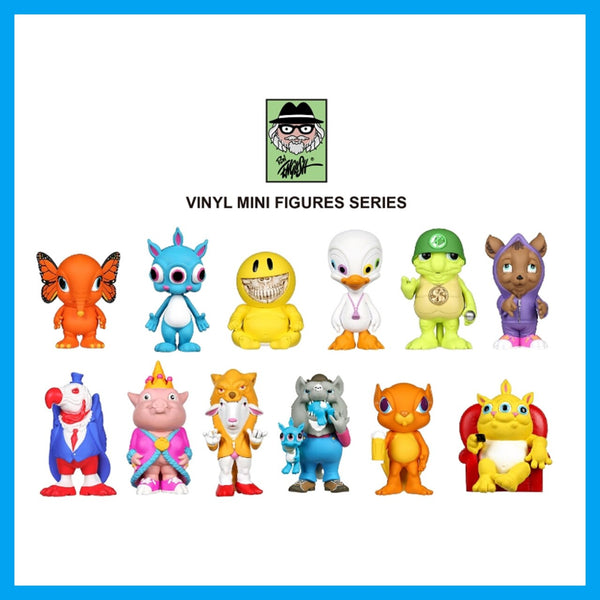 Ron English x Pop Life: Popaganda - Delusionville Mini Figure 1 Blind Box Vinyl Figure