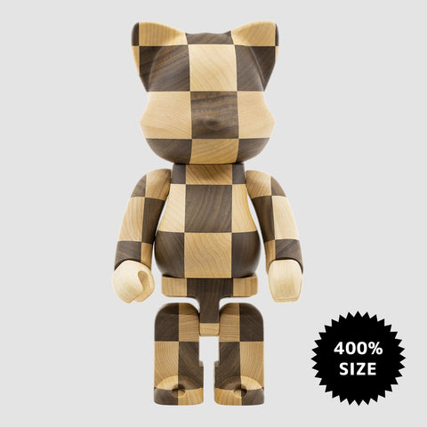 MEDICOM TOY: NY@BRICK - Karimoku Chess Wood 400%