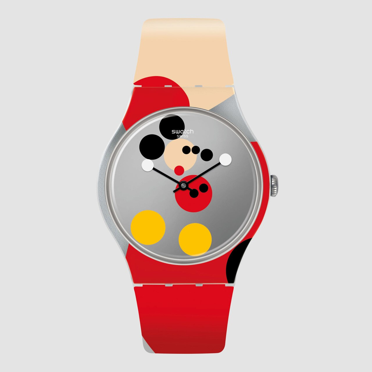 Swatch x Damien Hirst - Mirror Spot Mickey Watch Limited Edition