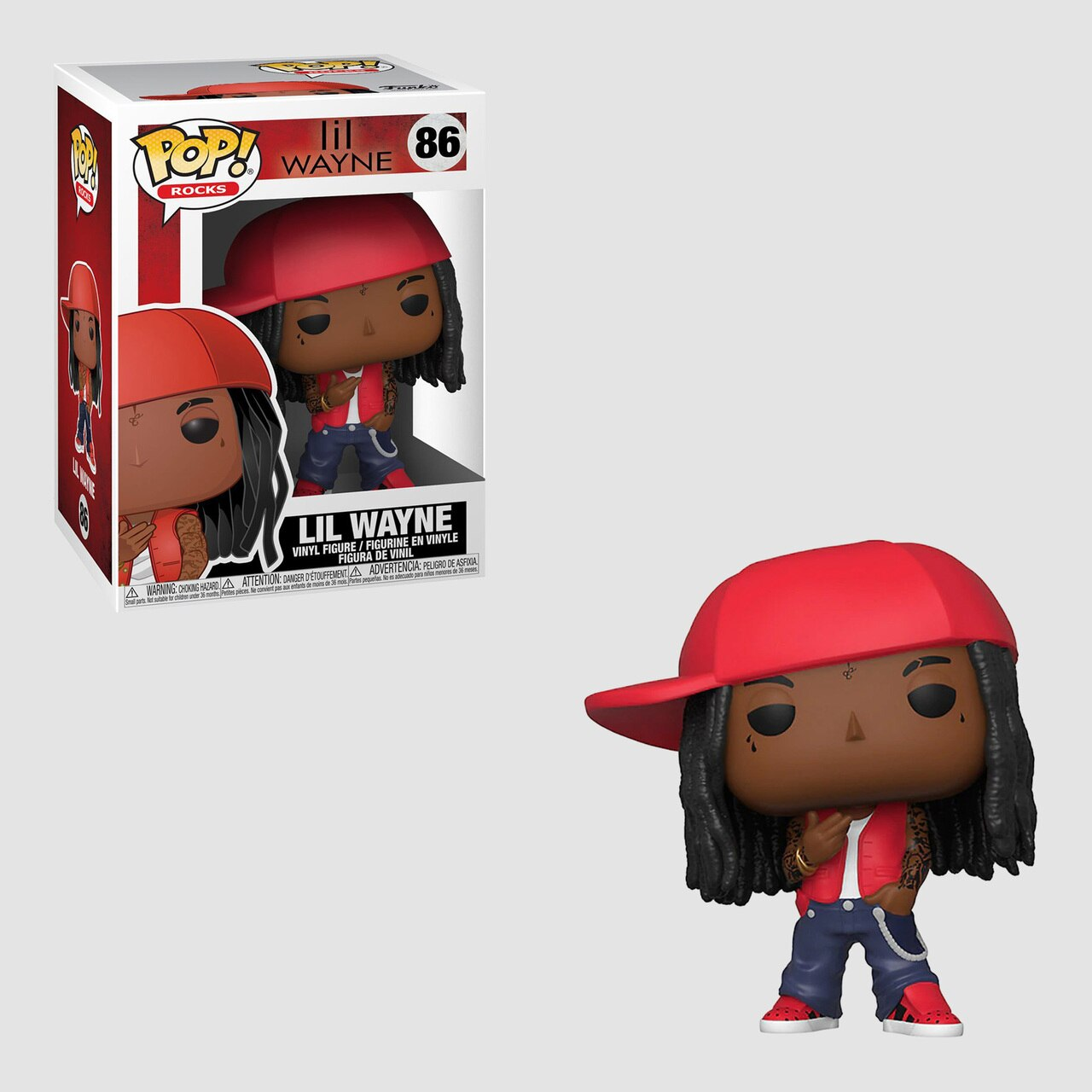 Funko Pop! Rocks: Lil Wayne #86