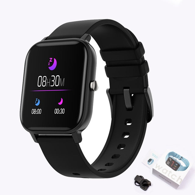 LIGE New Smart Watch Reloj digital impermeable y multifunción