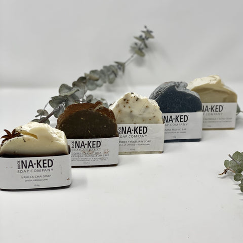 natural bar soap buck naked low waste sustainable