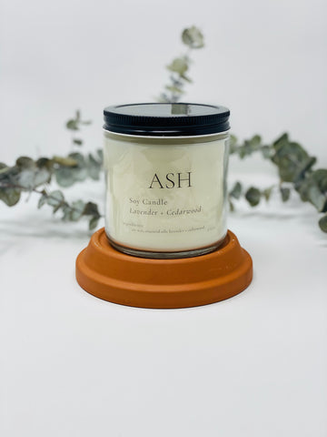Lavender + Cedarwood Candle