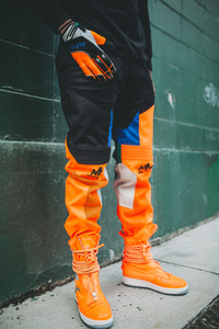 "Orange ""McFly Sport"" Moto Pants"