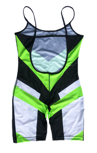 MM Green Wind Short Body Suit