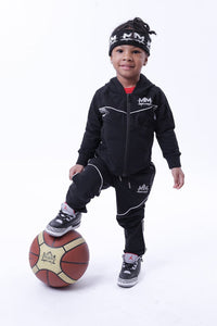 "Kids ""MM"" Tech Suit [Black]"