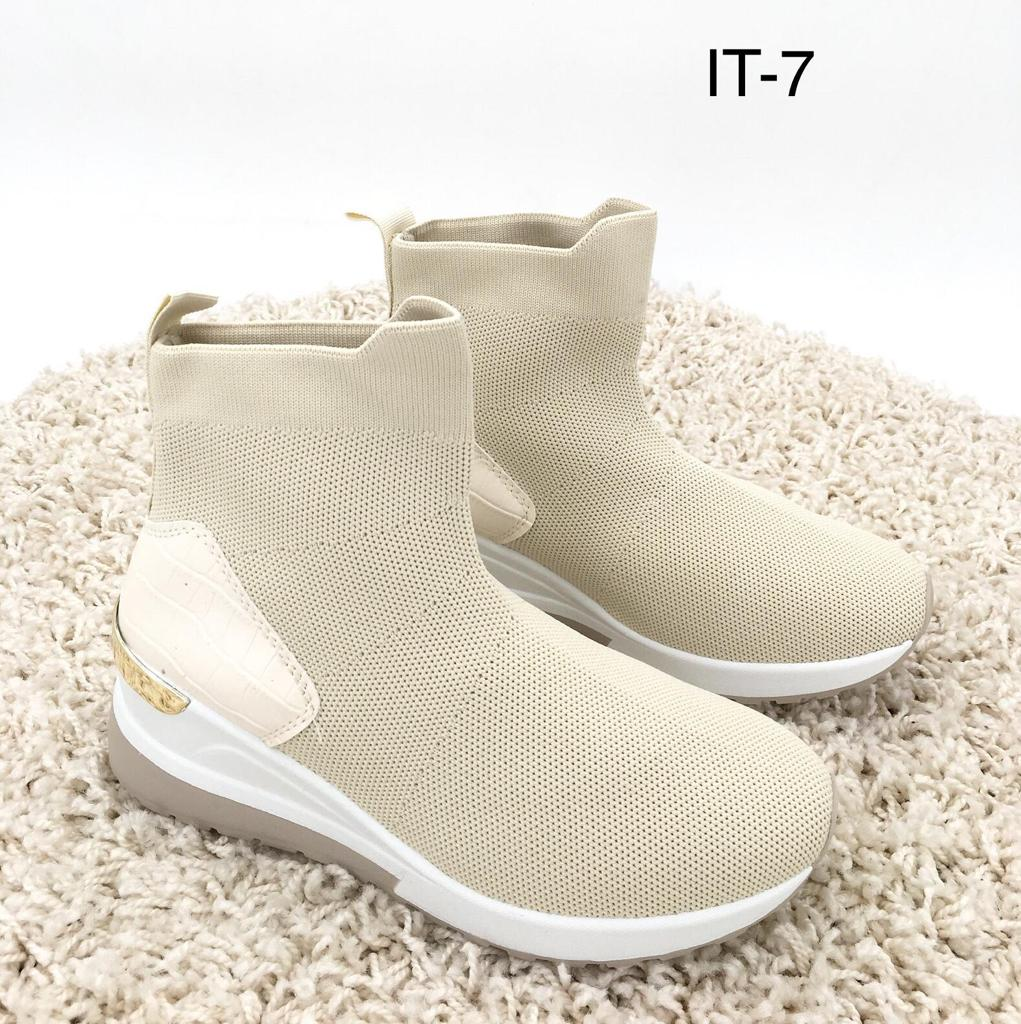 Sneaker IT 7 Sock beige