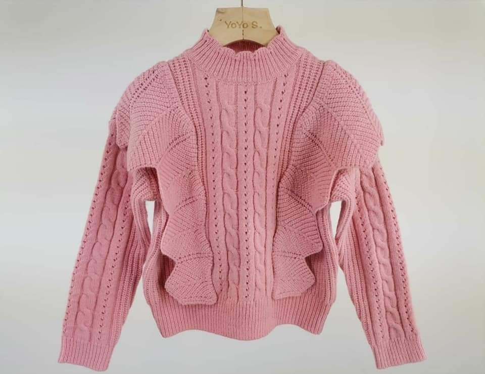 Roze sweater 8082