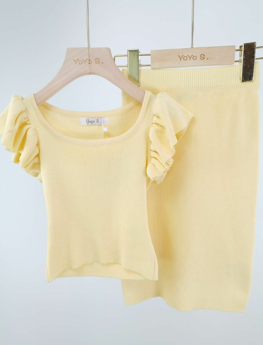 Zomer set yellow