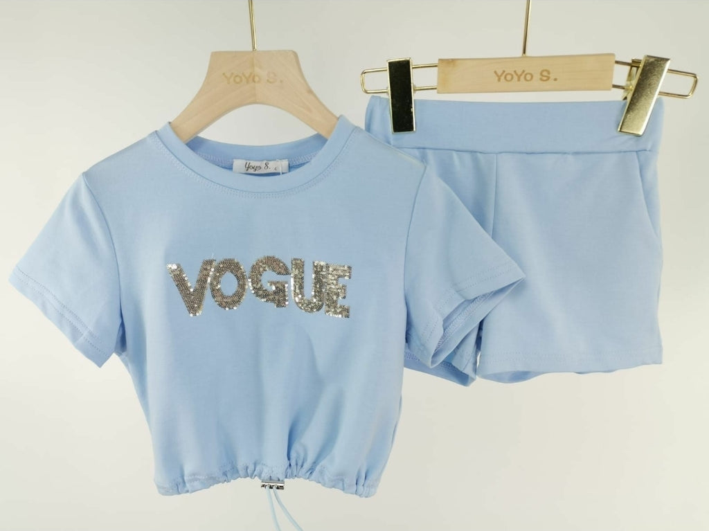 Vogue set bleu