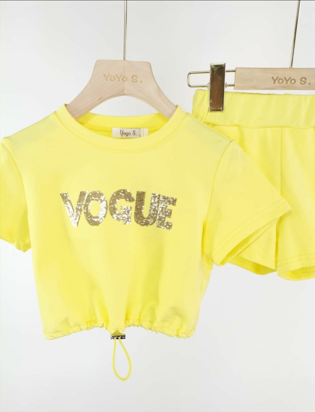 Vogue set yellow