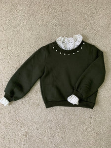 Sweater groen B 3033