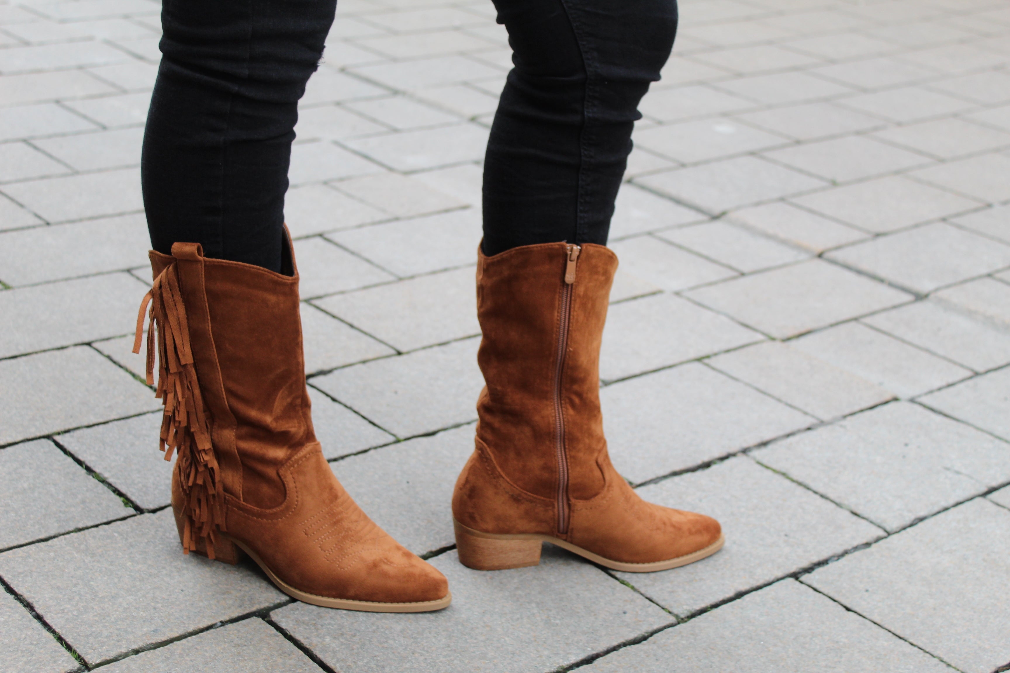 Western Boot T 230 Camel