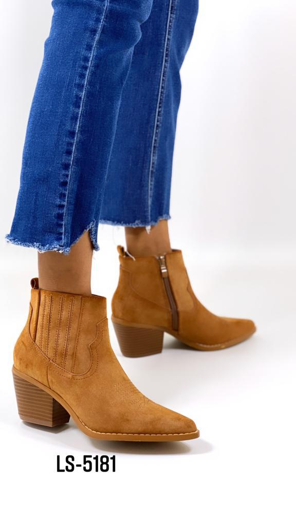 Western boots Camel  LS 5181