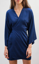 Load image into Gallery viewer, Bamboo Silk mini Wrap Dress *Ready to Ship*