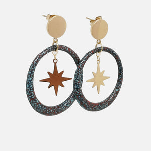Boucles d'oreilles - Collection Magma
