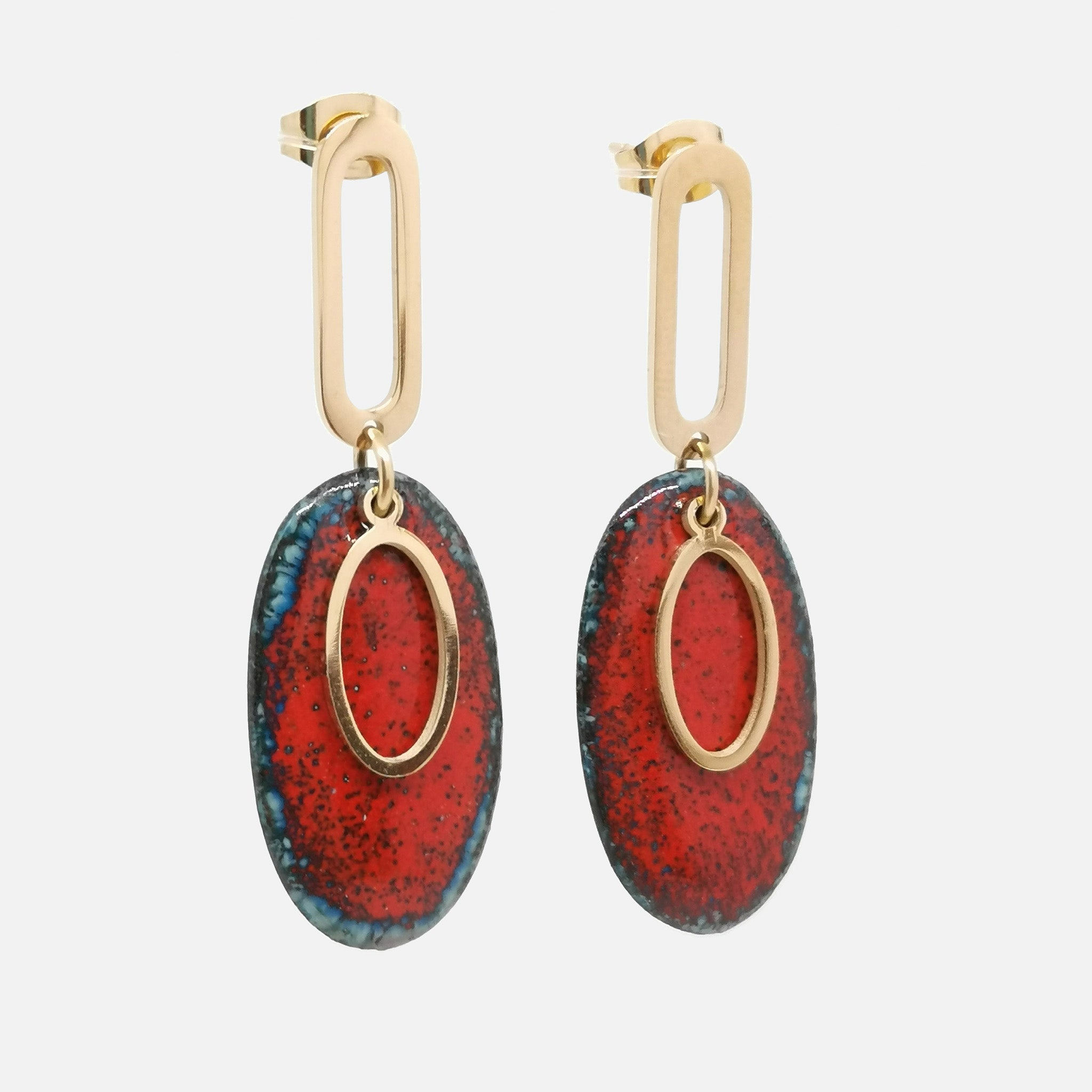 Boucles d'oreilles Elise - Collection Magma