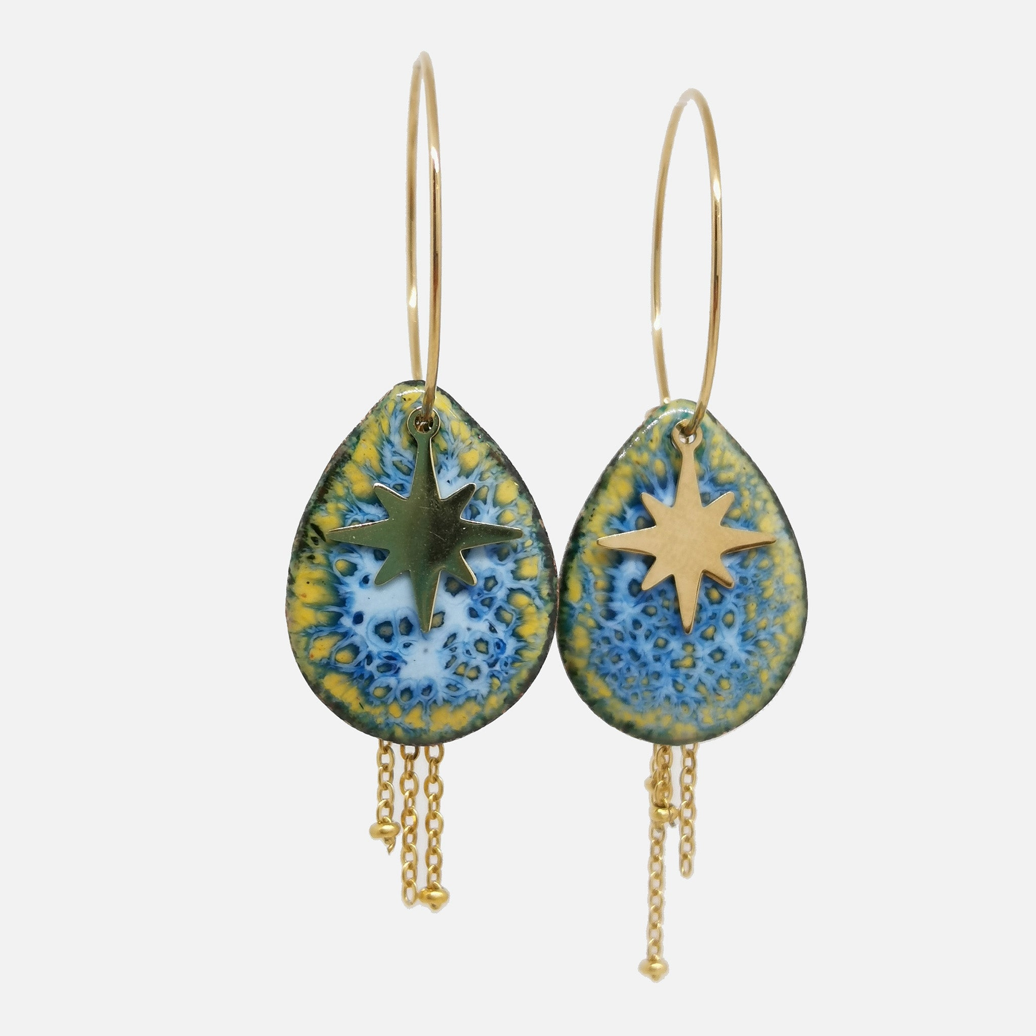 Boucles d'oreilles Esther -  Collection Myosotis