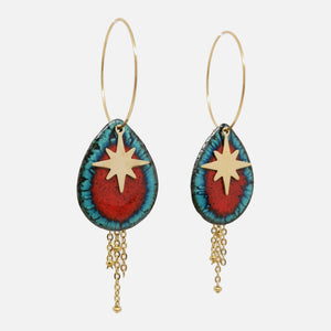 Boucles d'oreilles Esther - Collection Magma