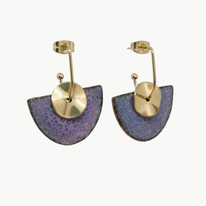 Boucles d'oreilles Lou - Collection Glycine