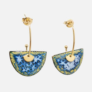 Boucles d'oreilles Luce - Collection Myosotis