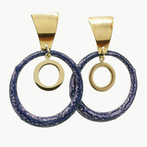 Boucles d'oreilles Lucie - Collection Glycine