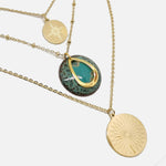 Charger l'image dans la galerie, Collier Triple  - Collection Amazonie